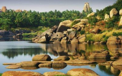Discover the well-preserved ruins of Hampi, once one of the richest and largest cities in the world