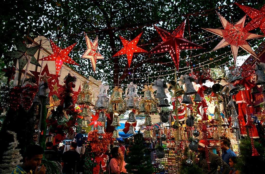 Mizoram during Christmas