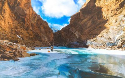 Unbelievable thrill of walking on ice during Chadar trek